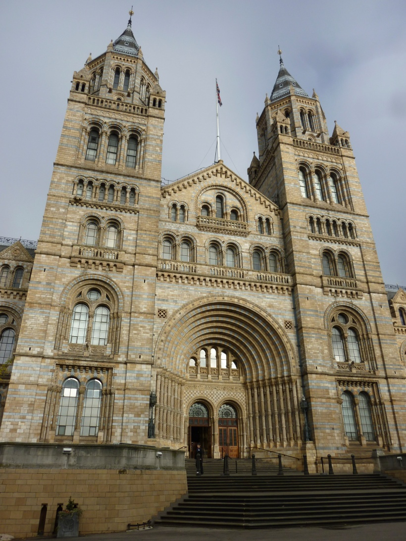 A beautiful museum facade.