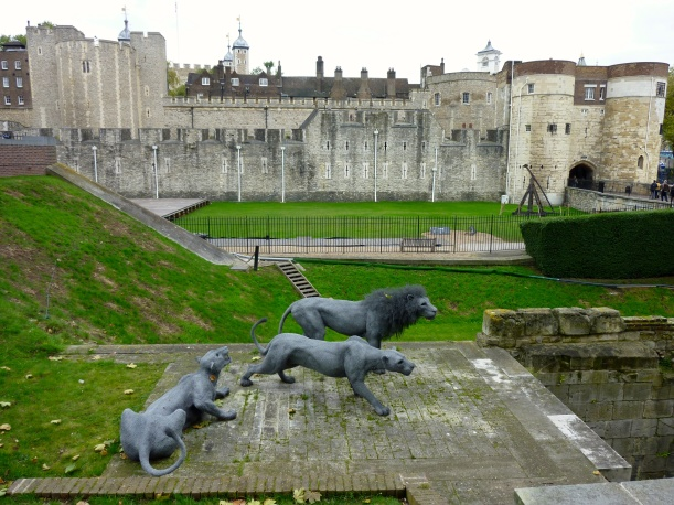 The Tower of London was really cool. I just didn't have time to tell you about it.
